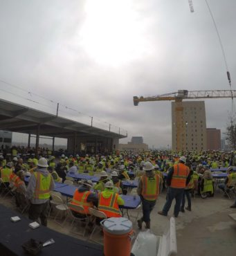 Camden Conte Topping Out Party