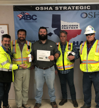 Assistant Project Manager Recognized for Safety