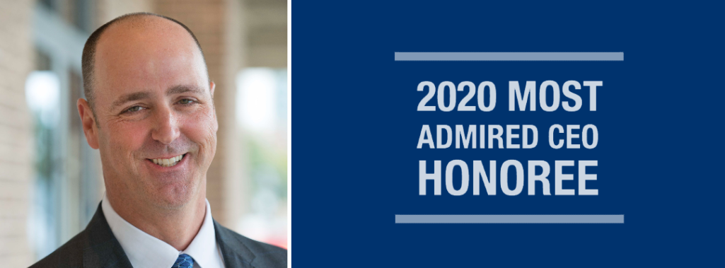 Kelly Hall Honored as a 2020 Most Admired CEO