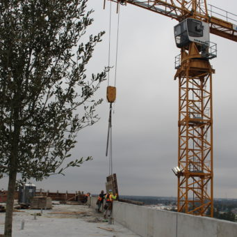 Insperity Centre V Topping Out