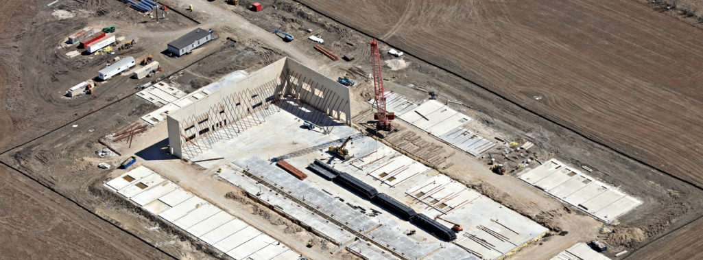 Tiltwall Panels Erected at Urban Mining Co.