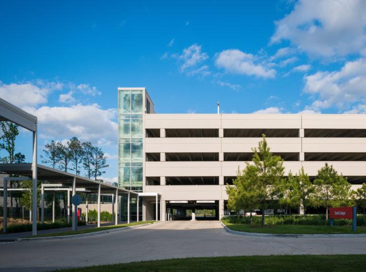Halliburton North Belt Campus Garages