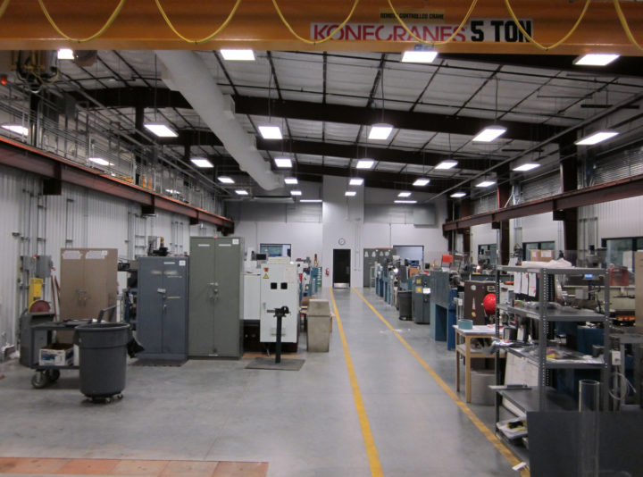 Halliburton North Belt Campus Machine Shop
