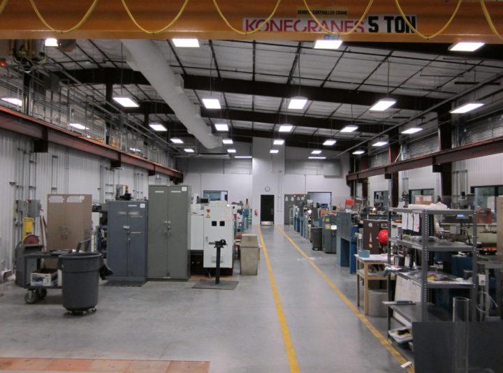 Halliburton North Belt Campus Machine Shop