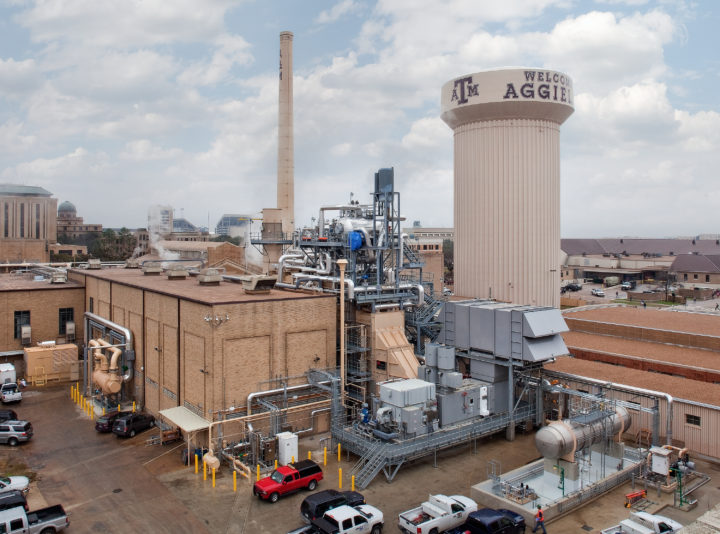 Texas A&M University Combined Heat and Power Upgrades